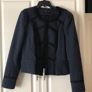 White House Black Market Military Style Jacket